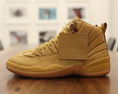 pretty nice bb263 58879 thekicksonfire  A new Wheat colorway of the PSNY x Air Jordan 12 is  expected to