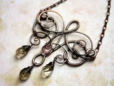 Wire Wrapped Princess Pendant | JewelryLessons.com