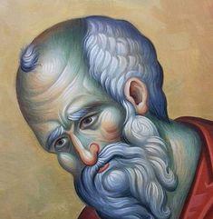 Byzantine Art, Byzantine Icons, Orthodox Icons, Saints, Contemporary, Face, Painting, Fresco, Painting Art