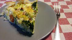Broccoli quiche a la Harrie - Bon Appetit - Kookworkshops, Catering & Kinderfeestjes Someren. Lekker snel voor door de weeks.