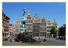 Grand Place (Grote Markt) Antwerp, Belgium  B