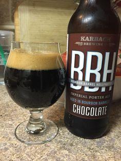 Karbach - Chocolate Bourbon Barrel Hellfighter - Imperial Porter 2016
