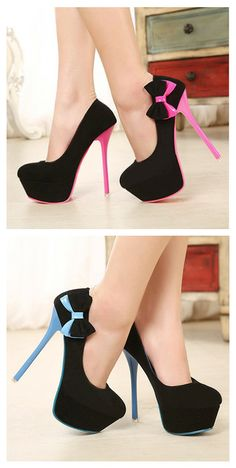 Side Bow Pumps