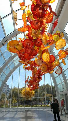 Chihuly Glass Garden.
