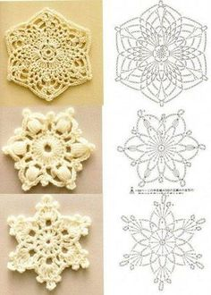 Captivating All About Crochet Ideas. Awe Inspiring All About Crochet Ideas. Crochet Diagram, Crochet Chart, Thread Crochet, Crochet Motif, Diy Crochet, Crochet Doilies, Crochet Flowers, Blanket Crochet, Crochet Snowflake Pattern