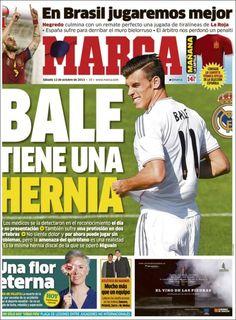 Los Titulares y Portadas de Noticias Destacadas Españolas del 12 de Octubre de 2013 del Diario Deportivo MARCA ¿Que le pareció esta Portada de este Diario Español?