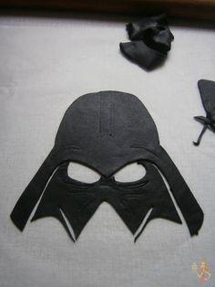 Darth Vader fondant tutorial