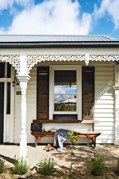 Australian country weatherboard home