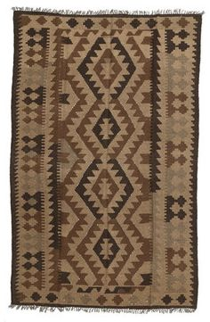 Kelim Afghan Old style-matto 156x244