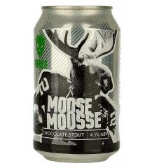 Fierce Beer Moose Mousse Can British Beer, Drink Sleeves, Mousse, Canning, Chocolate, Chocolates, Home Canning, Brown, Conservation