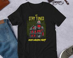 RockCBShop on Etsy Trending Outfits, Mens Tops, T Shirt, Etsy, Clothes, Fashion, Supreme T Shirt, Outfits, Moda