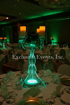 Light Up Candleabra by Exclusive Events, Inc.