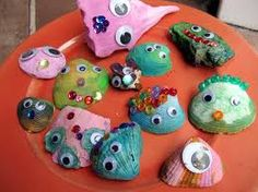 shell crafts for kids - Google Search