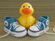Die 29 besten Bilder von Baby sneakers | Schuhe häkeln