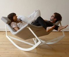 Rocking Chair for two.....pretty sweet...