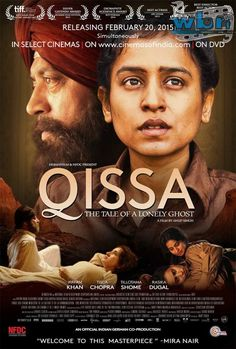 The new look poster of NFDC's international co-production, Qissa, a Punjabi language feature film by Anup Singh, starring Irrfan Khan, Tisca Chopra, Tillotama Shome and Rasika Dugal among others, is now out.  Read more: http://www.washingtonbanglaradio.com/content/24963815-qissa-tale-lonely-ghost-poster-out-now#ixzz3QnkBdcXX Via Washington Bangla Radio® Follow us: @tollywood_CCU on Twitter