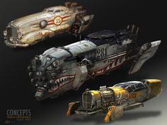 Concepts ship WORLD ENDURANCE by loreninemo on DeviantArt