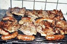 Romanian traditional barbecue