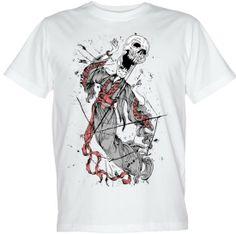 Wysokiej jakości koszulki z czaszkami