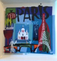 Paris Tapas Plate