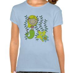 Blond Mermaid Tshirts
