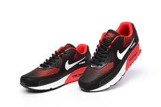 newest 8c972 91ab9 Gode di Un Paio del Nike Air Max 90 KPU TPU Di Sport Scarpe Da Corsa Per Le  Donne Nero Argento Rosso