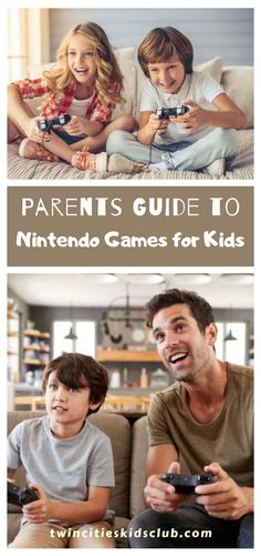 Twin Cities Kids Club Blogs: Parents Guide to Nintendo Games for Kids - Nintendo is a household name in kids entertainment. As a parent, you likely have fond memories of playing Nintendo games as a child — or maybe you still do! Who doesn't love a great game of Mario Kart or Super Smash Bros.? | Parenting Tips | Nintendo Games | Household Games | Nintendo Games For Kids Infant Activities, Fun Activities, Kids And Parenting, Parenting Hacks, Activities For 2 Year Olds, Children Toys, Learning Through Play, Mario Kart, Twin Cities