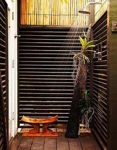 Zen Outdoor Shower