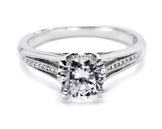 Simply Tacori Classic Diamond Engagement Ring by Tacori at Charleston Alexander