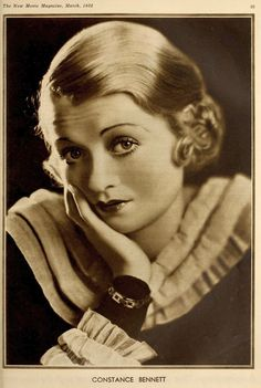 best pictures of constance bennett