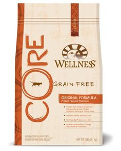 BESTSELLER! Wellness CORE Grain-Free, Original Formula Adult Cat and Kitten Food, 2-Pound Bag $15.80