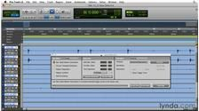 Converting drum transients to MIDI from the Course Pro Tools Projects: Editing Drums Using Beat Detective and Sound Replacer