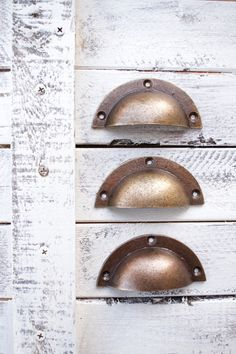 Brass Drawer Pulls Drawer Pull Handles Drawer by honeywoodhome Brass Drawer Pulls, Cabinet And Drawer Pulls, Drawer Handles, Brass Kitchen, Kitchen Decor, Kitchen Cabinets, Metal Drawers, Dresser Drawers, Handmade Accessories