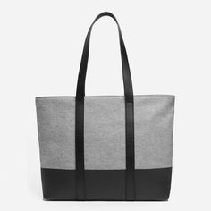 Our largest tote yet, in a lightweight cotton canvas fabrication that's perfect for a trip to the park or the beach. 100% seeded cotton canvas exterior Screen-printed base repels oil, dirt, water, and even wine stains. Interior zip pocket keeps valuables secure Spot clean only