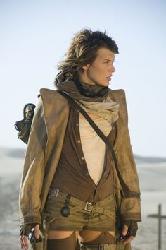 Resident Evil: Extinction // 'clean' post-apocalyptic look