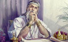 """Personajul biblic Solomon, fiul lui David, este recunoscut in istorie ca unul dintre cei mai intelepti oameni. Pilda lui Solomon despre sensul vietii si implinire.    """"Cand regele Solomon s-a intors din munti, dupa apusul soarelui, cei Thug Life, Princess Zelda, Songs, Fictional Characters, Grande, Solomon Asks For Wisdom, Book Of Proverbs, King Solomon, Black Magic"""