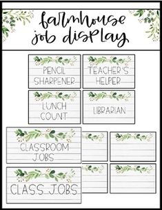 Looking for for ideas for rustic farmhouse? Browse around this site for perfect rustic farmhouse ideas. This kind of rustic farmhouse ideas seems entirely fantastic. Classroom Posters, Classroom Design, Future Classroom, Classroom Themes, Classroom Organization, Preschool Classroom, Kindergarten, Classroom Management, Classroom Jobs Display