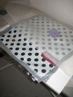 HAAGAKÄSSÄÄ: 5. luokkalaisten muovipussisulatus-töitä ja ohje muovipussisulatukseen