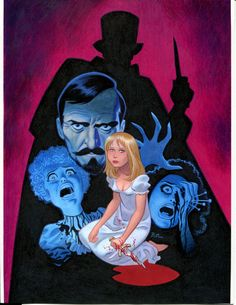 Bruce Timm's Little Shoppe of Horrors cover - Hands of the Ripper