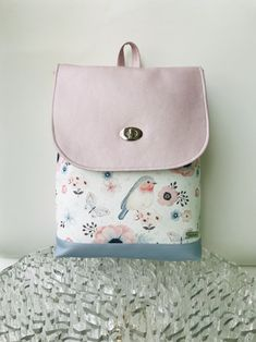Batůžek ptáčci Fashion Backpack, Monogram, Backpacks, Zip, Bags, Design, Handbags, Taschen, Monograms