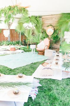Tropical baby shower ideas   Wedding & Party Ideas   100 Layer Cake