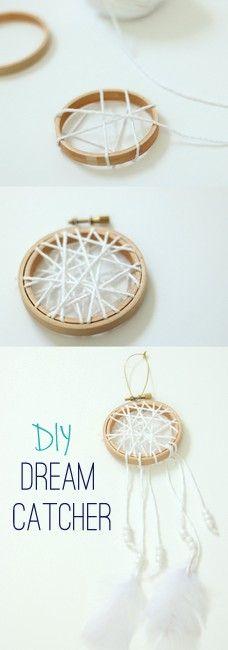 Such a fun & easy craft that anyone can enjoy. DIY Dream Catcher