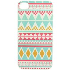 MULTI TRIANGLE IPHONE 4/4S CASE. - TECH shopjeen. I LOVE NAVAJO PRINTS!
