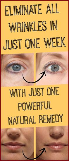 Powerful Natural Remedy That Eliminates All Wrinkles in One Week! - Healthy Food House CA