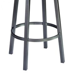 The look of the Modern is at your fingertips when you incorporate this stylish Contemporary Barstool into the comfort of your home. Beautifully complimenting an