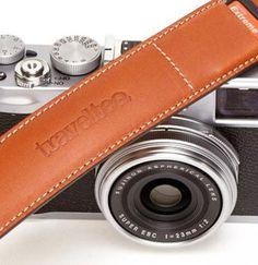 Travel Teq leather strap for photo cameras. - keyofaurora.com Artisanal.Narrative.Smart