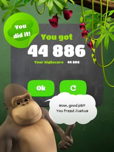 10monkeys - A Fun Math App for Elementary School Students' iPads - Practice multiplication tables two through ten