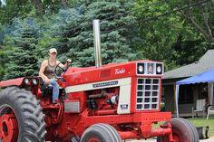 Farmer Girl International Tractor