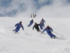 I was born to ski