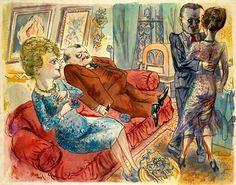 George Grosz - Ein Abend in Berlin Max Beckmann, George Grosz, Pictures At An Exhibition, Art Students League, Digital Museum, Art Abstrait, Types Of Art, Figurative Art, Art Google